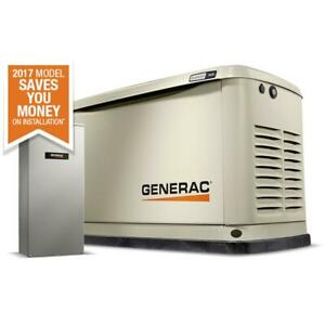 Generac 7030 Guardian Series 70301 9 8kw Air cooled Standby Generator With W