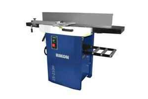 Rikon 25 210h 12 In Planer jointer W helical Cutter Head