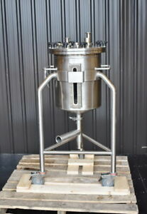 10 Gallon Stainless Steel Tank Sanitary