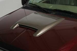 Large Single Smooth Hood Scoop 25 X 28 X 2 For 1988 1999 Chevy C3500