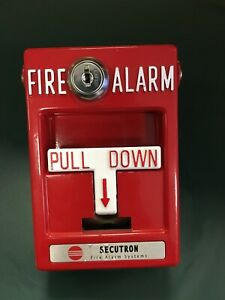 Rms 1t Secutron Fire Alarm Pull Station
