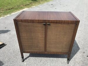 Mid Century Modern Server Bar Cart Buffet