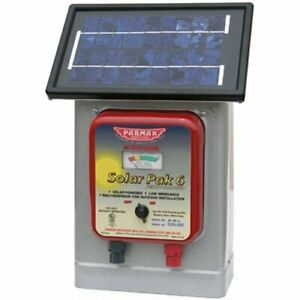 Parmak Df sp li Solar Pak 6 Low Impedance 6 volt Battery operated 25 mile range