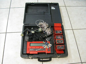 Snap On Mt2500 Diagnostic Scanner With Cartridges Keys