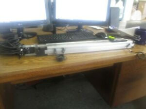Thk Vlast60 12 0450 Linear Actuator With Mitsubishi Hf kp13 Motor