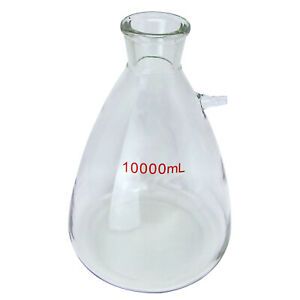 Hfs r 10l Buchner Flask vacuum Flask Filter Flask Suction Flask 70 45