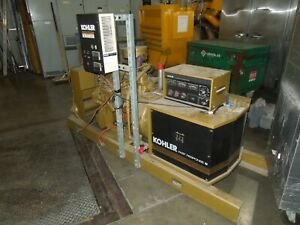 Kohler Fast Response Ii 30rz278 33kw 3ph 277 480v Natural Gas Generator Used
