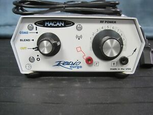 Macan Radio Surge Mc6a Dental Electro Surgical Unit