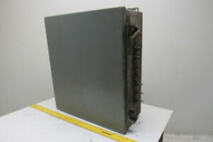 Sce 16 X 14 X 6 Type 12 Electrical Enclosure With Back Plate