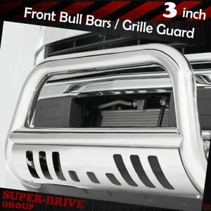 3 S s Front Bumper Bull Bar Grille Guard For 1994 2001 Dodge Ram 1500 2500 3500