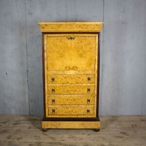 Beautiful Antique French Chest Of Drawers Escritoire Walnut