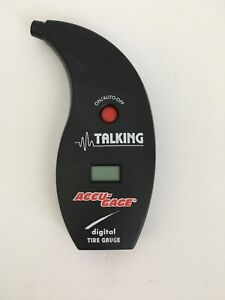 Used Accu Gage Talking Digital Tire Gauge 99 5 Max Psi Works New Battery