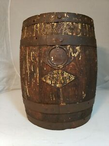 Late 1800 S Early 1900 S Dutch Boy Paint Bucket With Badges