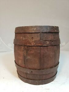 Late 1800 S Early 1900 S Pittsburgh White Lead Paint Bucket
