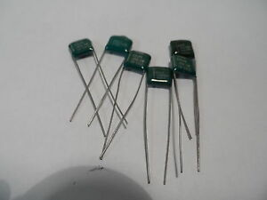 Trw Lot Of 6 Capacitors 68 50v 446 10 Unused 0315