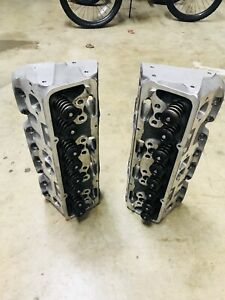 Sbc 23 Degree Afr Alum Ported Cylinder Heads Dirt Late Model Imca Race Car