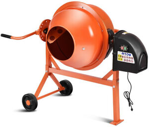 Concrete Cement Mixer Portable Electric New Brand New Free Shipping