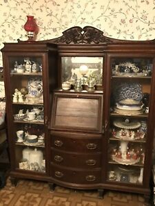 Antique Secretary Desk Contents Not Included