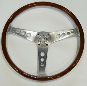 Walsall Grand Prix 15 Steering Wheel 60s 70s Triumph Same As Les Leston