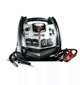 Schumacher Sj1332 1200 Amp Jump Starter With Air Compressor And 12v Usb Power