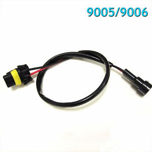 9005 9006 Wire Relay Harness For Hid High Beam Kit For Hid Ballast To Socket