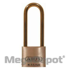 Abus 55hb 40 Mb B Ka 55 Series Solid Brass Padlock Keyed Alike