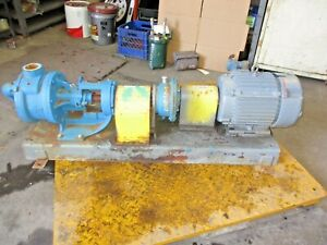 Viking L4124a Iron Pump 2 W speed Reducer Marathon 7 5 Hp Motor 4151237j
