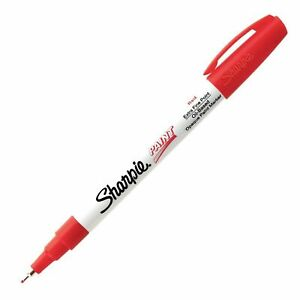 Sharpie Paint Oil Base Red Xfn shp 35527 12 pk