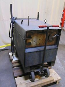 Miller Electric 250 Amp Constant Potential Dc Welder Power Supply Cp 250sm