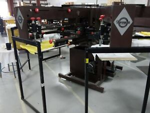 Brown Screen Printing Press Electra Print Stealth Series W extra Parts