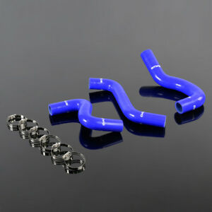 3pcs Silicone Radiator Hoses Fit For Toyota Vits Yaris Ncp91 Ncp92 Ncp93 05 2013