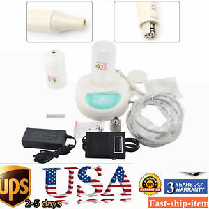 Used Dental Ultrasonic Scaler Self Contained 2 Water Bottle Handpiece 6 Tips