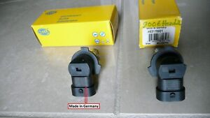 New Headlight Bulb 9006 Front Hella 55 Watts Made In Germany Qty 2