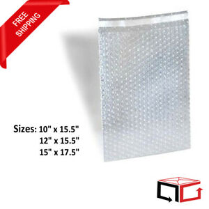 150 2500 Bubble Out Bags Padded Wrap Pouches Self Seal 10x15 5 12x15 5 15x17 5