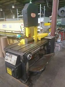 Kalamazoo Vt18 Vertical Metal Cutting Band Saw 1 Blade Available Now