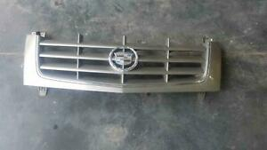 2002 2004 Cadillac Escalade Front Grille Grill Oem Pewter Tan