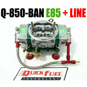 Quick Fuel Q 850 e85ban Fuel Annular Mech Blow Thru 6 Line Kit Look