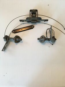 57 Chevy Windshield Wiper Transmission Complete With Nice Cables 1957 All Models