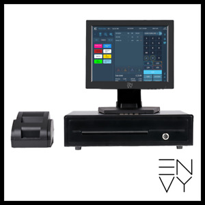 12 Touchscreen Pos System For Bars And Hospitality Pos Cash Register Till