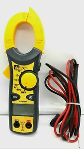 Ideal 61 746 Clamp pro Clamp Multi Meter 600 Amp W leads Cat Iii 600v
