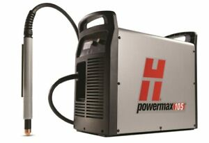 Hypertherm Powermax 105 Plasma Cutter W Cpc 50 Machine Torch 059381