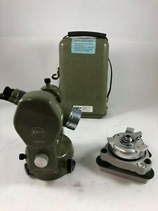 Kern Theodolite Dkm2 Ae With Leveling Base