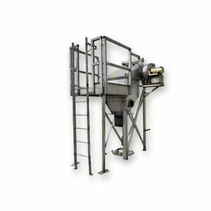 Used Donaldson Torit Cpc 3 Powercore Dust Collector Stainless Steel