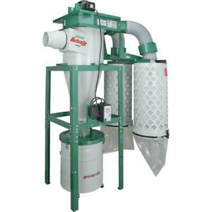 Grizzly G0442 5 Hp Cyclone Dust Collector