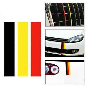 New Diy Car Accessories German Germany Flag Sticker Decal For Vw bmw volkswagen