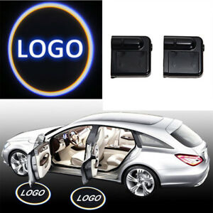 2pcs For Lexus Led Logo Wireless Door Welcome Projector Shadow Courtesy Light