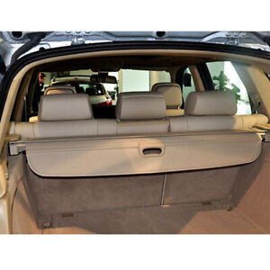 For Bmw X5 E70 F15 07 18 Car Rear Trunk Cargo Cover Beige Security Shield Shade