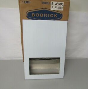 New Bobrick Recessed Paper Towel Dispenser B 35903