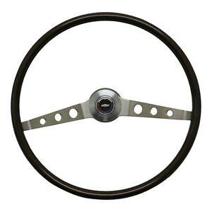 1964 1966 Chevy Chevelle Impala Deluxe Wood Steering Wheel With Hub