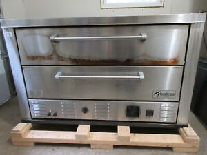 Peerless Electric 2 Deck Oven ce61pe Bread Pizza Bakery Excellent Condition